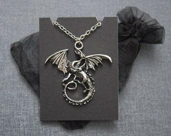 Game of Thrones dragon necklace – Daenerys Targaryen cosplay –Smaug – Khaleesi jewelry / jewellery