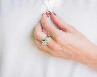 Faux Druzy Ring (4 Colors)