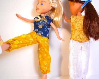 Make Under Bratz Doll Sewing Pattern- Bow Top and Harem Pants
