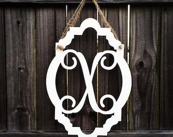 Monogram Flamingo Door Hanger
