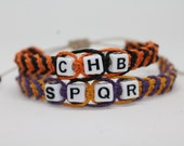 Camp Half-Blood/Camp Jupiter Hemp Friendship Bracelet