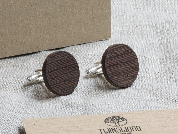 Wood Cufflinks. Personalized Cuff Links. Laser Engraved Monogrammed Initial Wooden Cufflinks. Сustom cufflinks. Groomsmen Gift. Xmas gift.