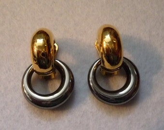 "Earrings. ""Agatha"" France. Vintage."