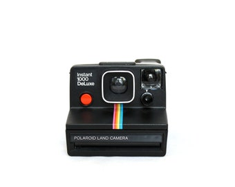 Polaroid Instant 1000 DeLuxe - Black - Special Edition