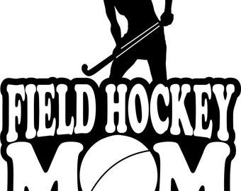 Field Hockey Sweatshirt/ Field Hockey Mom /Girl Player Field Hockey Mom Hoodie Sweatshirt/ Field Hockey Mom Sweatshirt