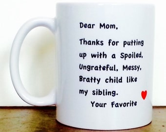 Motheru0027s Day Mug For Mom, Gifts For Mom, Motheru0027s Day Gift, Mom Mug