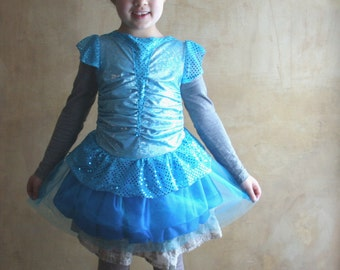 Fairy Winx tutu dress, Bloom Winx dress, flower girl tutu dress, princess dress