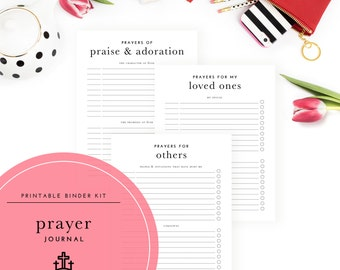 Prayer Journal Binder Kit - A Printable PDF