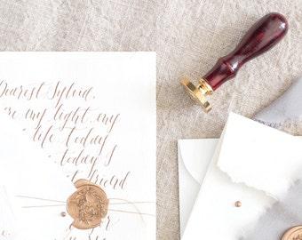 Calligraphy Love Letter / Handwritten Vows