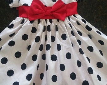 Shirley Temple Inspired Dress