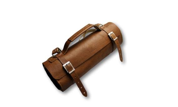 knife roll bag tox leather chef bag knife bag unisex. Black Bedroom Furniture Sets. Home Design Ideas
