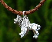Angel Lion Bracelet  Leo Bracelet  Griffin Bracelet  birthday gift mothers day gift
