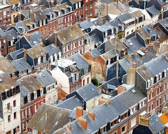 Rooftop View, Le Treport, France