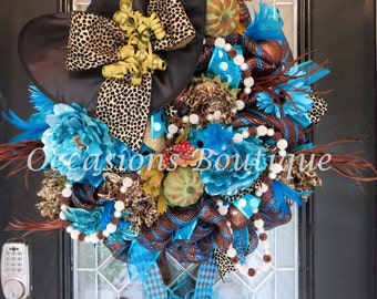 Halloween Witch Wreath, Halloween Decoration, Fall Wreath, Witch Wreath, XL Wreath, Front door wreath, Custom Wreath