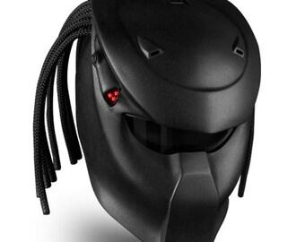 Predator Original – badass motorcycle helmet. Genuine DOT/ECE