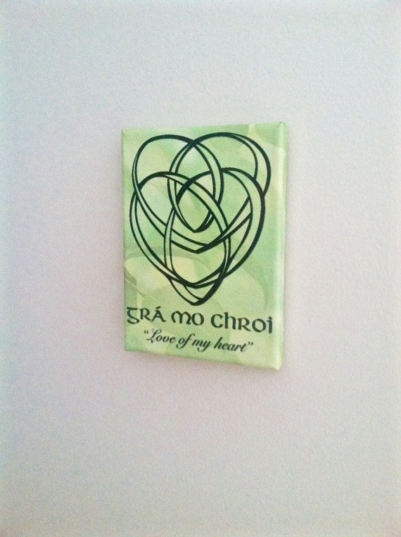 Celtic motherhood knot wall canvas home decor irish decor for Celtic decorations home