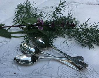Vintage demitasse spoons. Set of 6