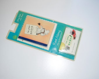 The Story of Babar Book & Cassette Tape Read Along and Music 1994
