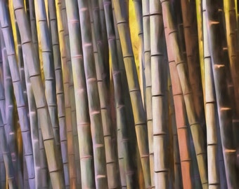 Bamboo Forest, Japanese Woods, Impressionism