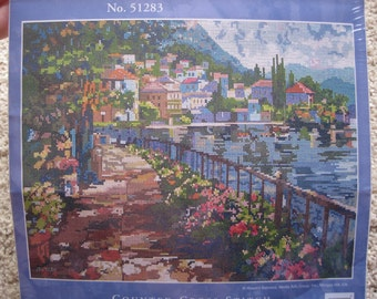 Cross Stitch Kit - Sunlit Stroll - Candamar Designs #51283 - NIP NEW