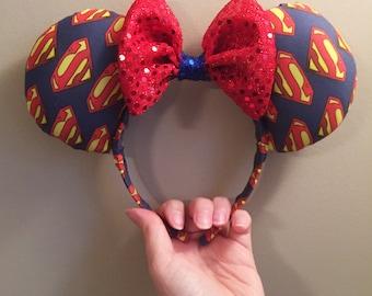 Superman Mouse Ears
