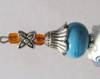 662 - CLEARANCE - Beaded Key Ring