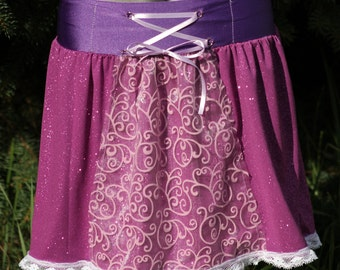 Rapunzel Inspired Running Skirt