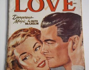 All Story Love Vol 108 # 4 December 1946 Vintage Romance Pulp Magazine