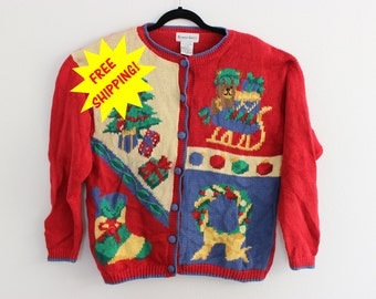 Ugly Christmas Sweater XL  516