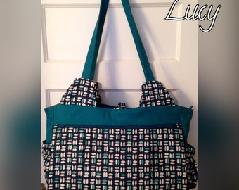 Lucy Bag - Feathers