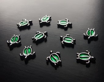 Turtle Floating Charm for Floating Lockets-1 Pc-Gift Idea for Women