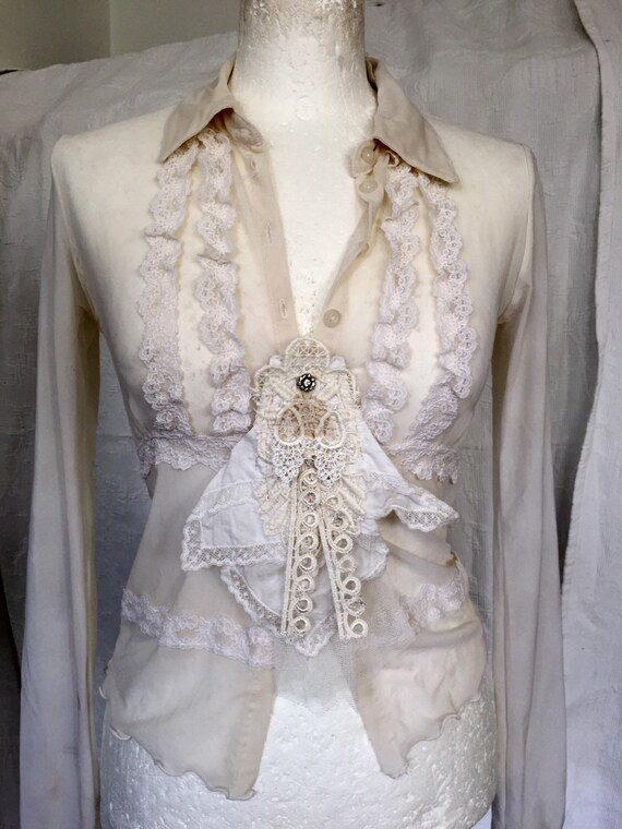 Lace Blouse Wedding 105