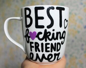 best friend gift, best friend birthday gift, best friend mug, best friend long distance, 21st birthday, 30th birthday for her, mature