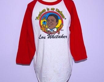 RARE Lou Whitaker T shirt sz- medium 100% cotton