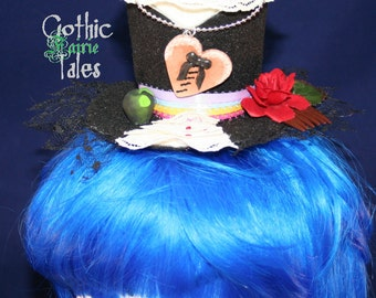 Gothic Fairie Tales Snow White Hat, Mini Hat, Lolita