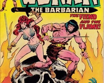 Conan the Barbarian #44, November 1974 Issue - Marvel Comics - Grade VG