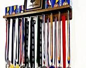 Premier 2Ft Award Medal Hanger Display Rack and Trophy Shelf