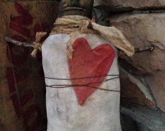 Made to Order: Primitive Valentine Doll