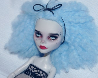 Monster High Ghoulia Yelps OOAK Custom Doll Repaint