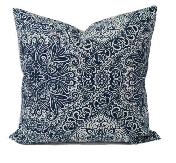 Decorative Pillow Covers 26x26 : Blue pillow covers Blue pillows Decorative pillow Blue