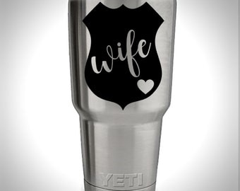 Yeti Tumbler Decal, Yeti Decal, Yeti Rambler Decal, Yeti Colster Decal, Yeti Sticker, Yeti Monogram, Yeti Custom Decal,  Yeti Decal