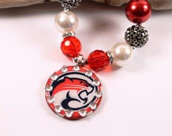University of Houston Cougars Inspired Necklace