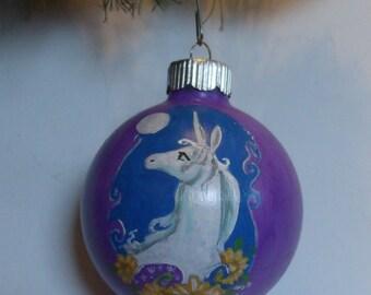The Last Unicorn Ornament