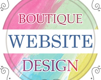 Boutique Shop Website Design • eCommerce • Unlimited Products • Shopify • Store • All Inclusive Price  • Fashion  • Jewelry  • Home Decor