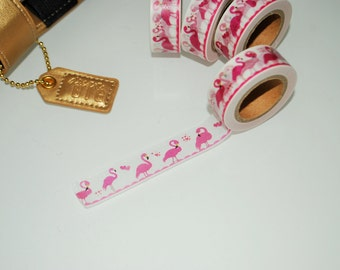 Flamingo Washi Tape.