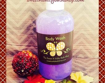 Blackberry Vanilla Moisturizing Body Wash/Shower Gel