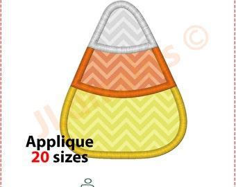 Candy Corn Applique Design. Candy corn embroidery design. Embroidery candy corn. Halloween applique design. Machine embroidery design