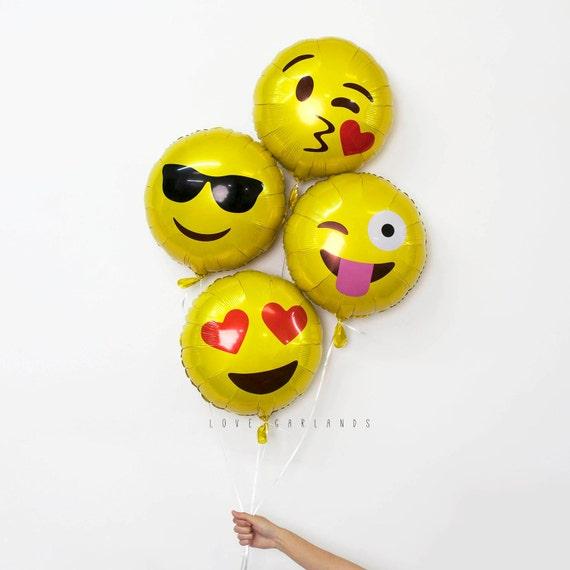 Emoji Balloon Emoticon Balloon Love Emoji Balloon By