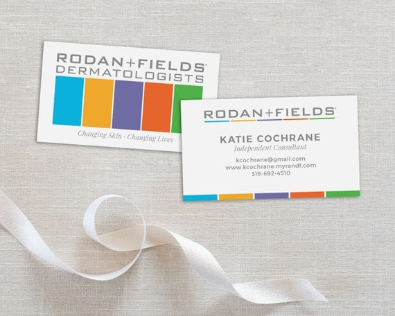 Rodan And Fields Business Card Personalized Business Card