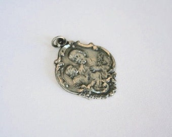 Sterling Silver Pendant, Religious Pendant